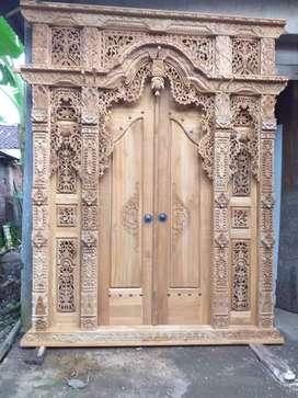 Gebyok 2m kusen pintu rumah