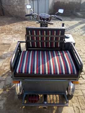 Three wheel moter cycle for disabled persons