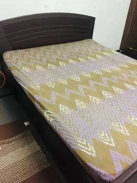 Queen size bed with storage for sale
