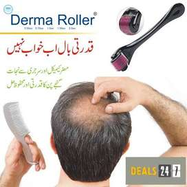 Derma Roller For Hair 0.5mm Titanium Needles