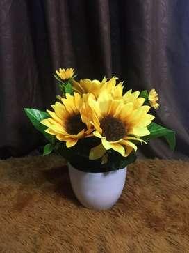bunga matahari plastik