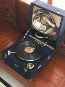 Rare antique deca gramophone
