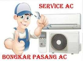 Service ac Demang lebar daun