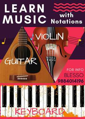 Violin Classes with notations