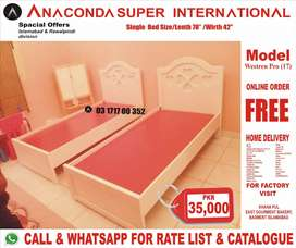 Single bed Wood Bed Set Double bed Wood Furniture Sofa set Factory.