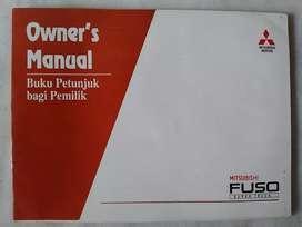 Fuso Super Truck FN157-FM157 - Buku Manual