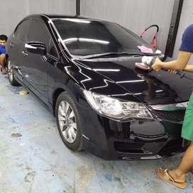 Nano Ceramic Coating Semarang, Salon Mobil, Non Panggilan, Kaca Film