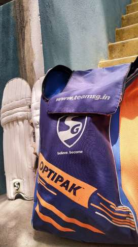 CRICKET KIT BAG   RARELY USED   GOOD CONDITION