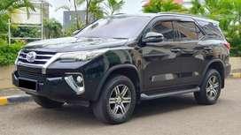 Toyota Fortuner G Diesel AT Pemakaian 2019 mirip VRZ km 55 rb Record