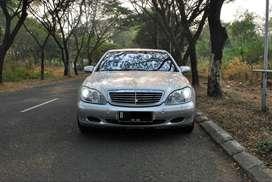 Mercedes Benz Mercy S280 AT 2.8cc W220 thn 2002 Warna Silver Metalik