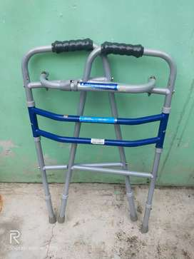 Foldaway and adjustable Walker.