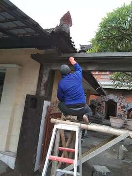 tukang bangunan untuk areal gianyar