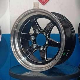 Velg suv 4x4well ring18 inch jual murah bisa buat mobil pajero sport