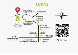 Rumah Ethnik Modern Tropis Dekat Rencana Exit Tol Jogja Barat & Wates