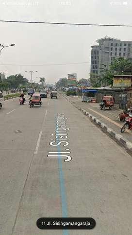 Jual BU Tanah Luas 1,6 Ha di Jalan Sisingamangaraja / Amplas - Medan