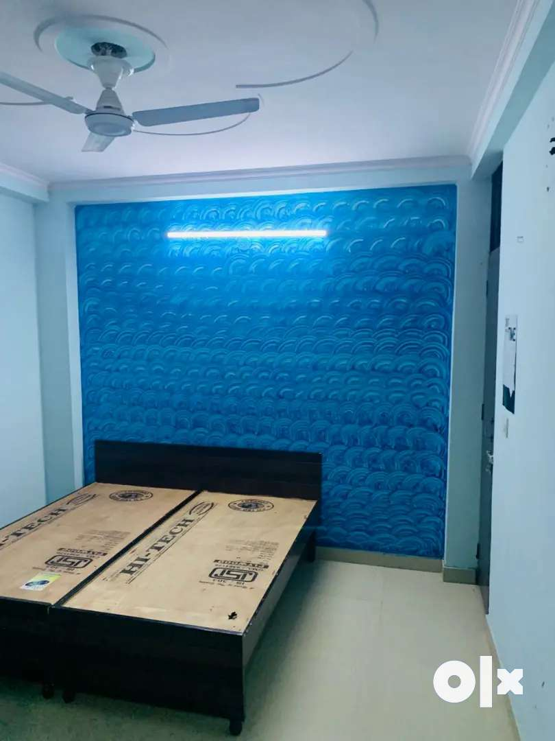Semi furnished One bhk flats for rent