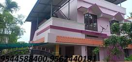 6.5cent plot with 2300 sq.ft 4BHK house thevally