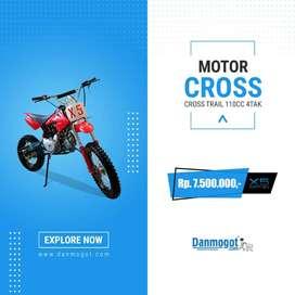 Motor Cross Trail 110 CC Medan murah Berkualitas Offroad