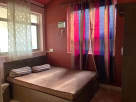 Available 2bhk furnished flat for rent in porvorim