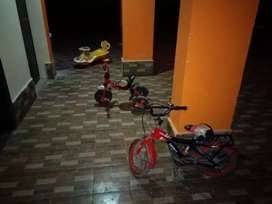 Baby bicycle ,scooter and tricycle