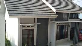 Rumah desain plafon tinggi semi 2 lantai (Mezzanine)