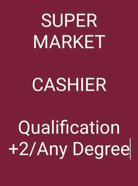 CASHIER job opportunity in Supermarket
