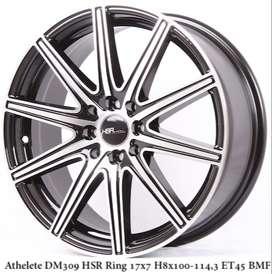 ATHELETE DM309 HSR R17X7 H8X100-114,3 ET45 BMF
