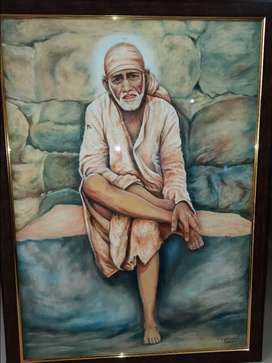 Sai Baba Drawing