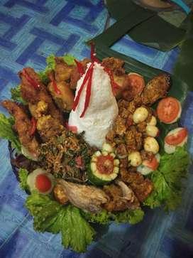 Jasa Catering / tempah makanan / masak untuk pesta