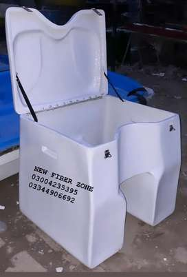 Fiberglass grocery delivery box