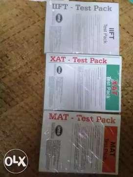 IIFT, MAT, XAT test pack total 15test 5 each