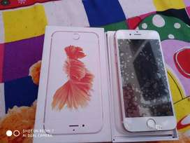 iPhone 6s 64 gb with bill and warranty