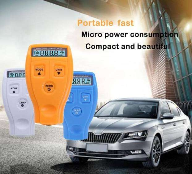 Car, Vehicle Coating Painting Thickness Gauge Tester 0