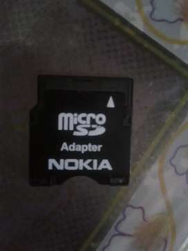 Micro SD card adapter Nokia