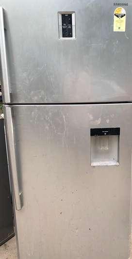 Samsung double door (550lts) fridge
