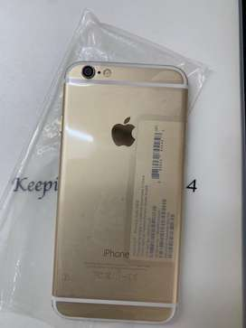 Iphone 6 64 gb gold.    Brand new with box