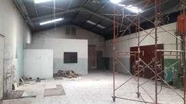 Gudang Kalasan, Sleman Jogja Timur 350 m2, ld 9 m