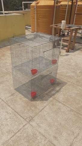 Cage for pets ( Heavy 14 gauge)