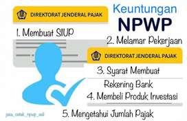 Pengurusan NPWP baru daftar atau cetak ulang kartu npwp