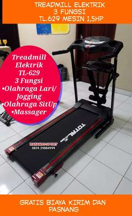 TL-629 Treadmill Elektrik 3 Fungsi Harga Murah
