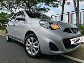 Nissan March 1.2 L AT 2014 Facelift. LOW KM Like New!!!