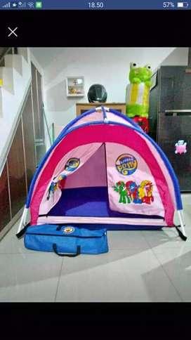 Tenda camping anak tuk mainan