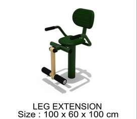 Jual ALat Fitness Outdoor Termurah _ Leg Extension- aLat Fitness Taman