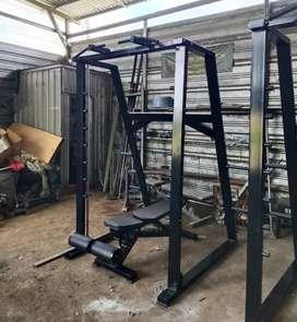 Smith Machine ready siap kirim standard fitness center murah