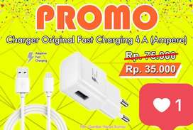 PROMO Charger Original Fast Charging 4A (Ampere)