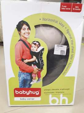 Baby carrier (unused and boxed) By Babyhug brand ( infants 18 months)