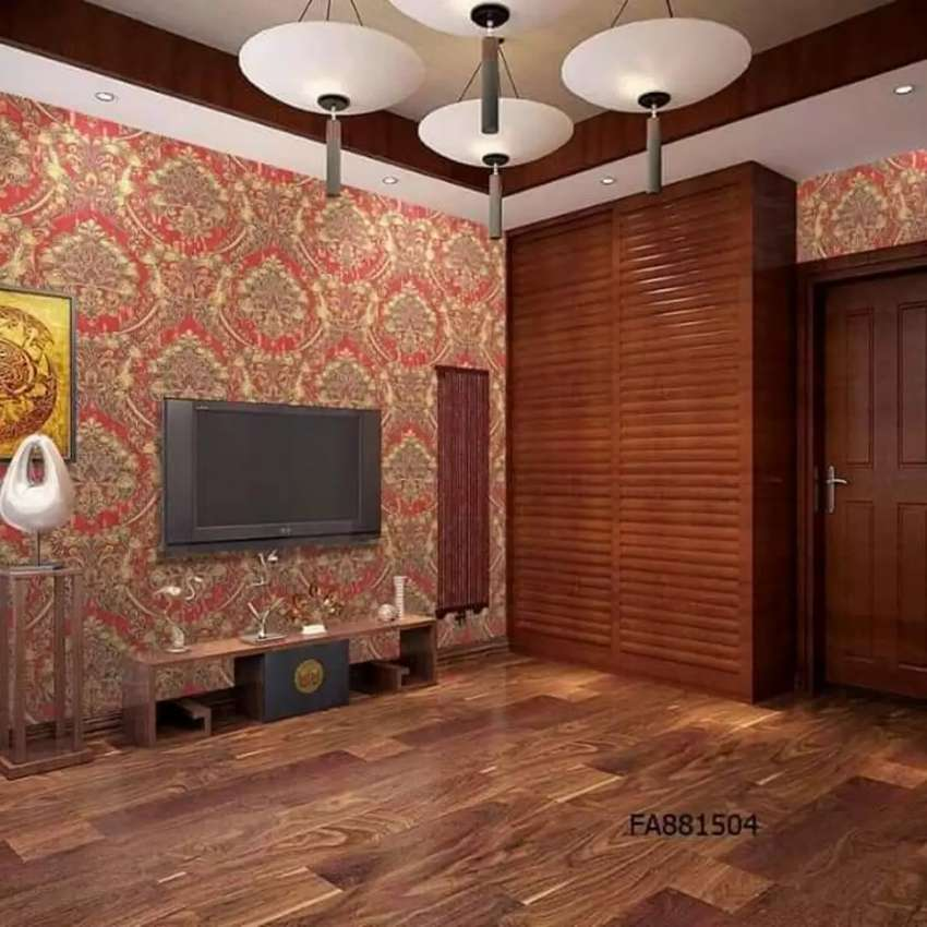 3d wall papaers, pvc wall paneling for seepage 0