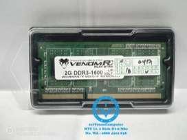 MEMORY LAPTOP VENOM RX SODIM DDR3 2GB PC1600 LOW VOLTAGE / MEM24-VEN