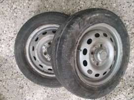 Indica tyre and disc