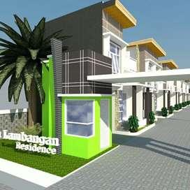 Rumah Murah 2,5 lantai harga 190jt, rumah inhouse dan KPR